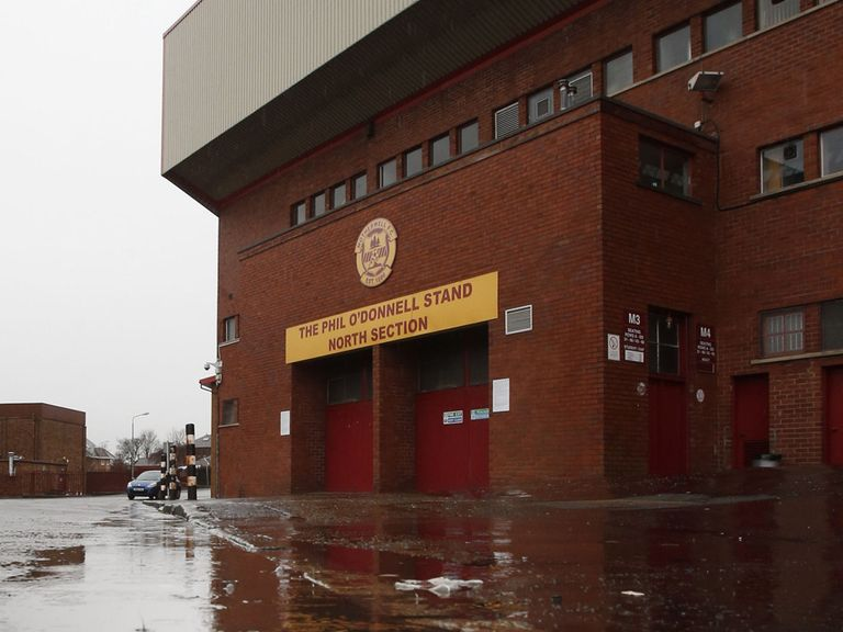 Fir Park: Saturday game called off