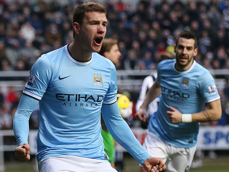 Edin Dzeko: Could get the nod for 90 minutes and value if so