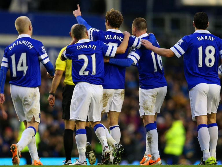 Nikica Jelavic: Thanks Everton fans for their support
