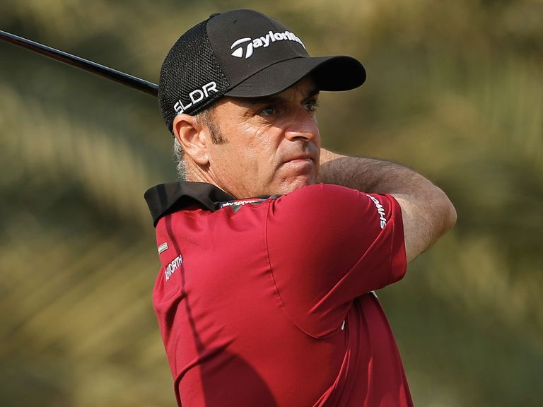 Paul McGinley: Struggling with a shoulder injury