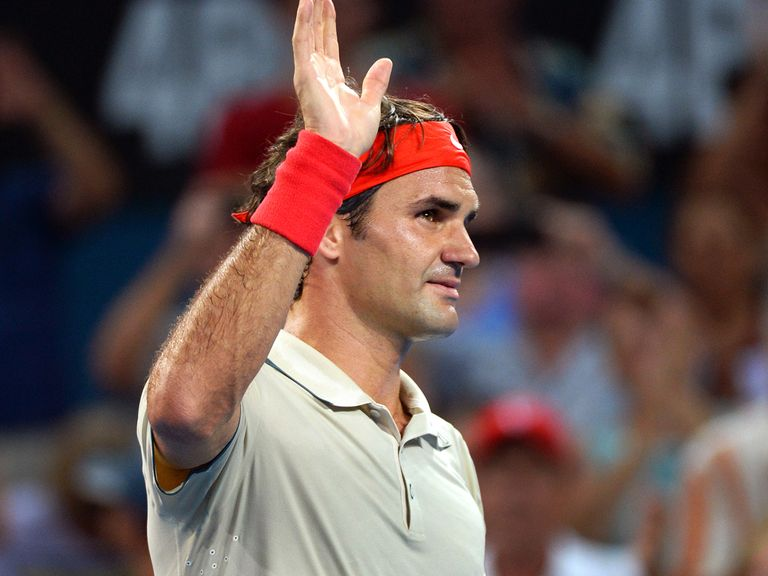 Roger Federer: Through in under an hour
