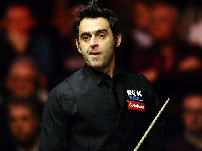 Ronnie O'Sullivan: Aiming for a third world title in a row