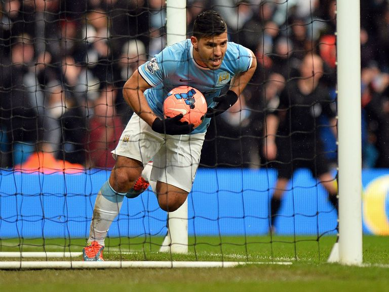Manchester City's Sergio Aguero is backed to star in Sunday's League Cup final against Sunderland.
