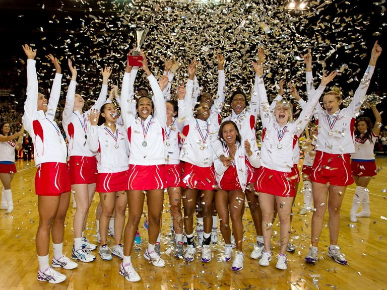 Watch England's netball team in action this month