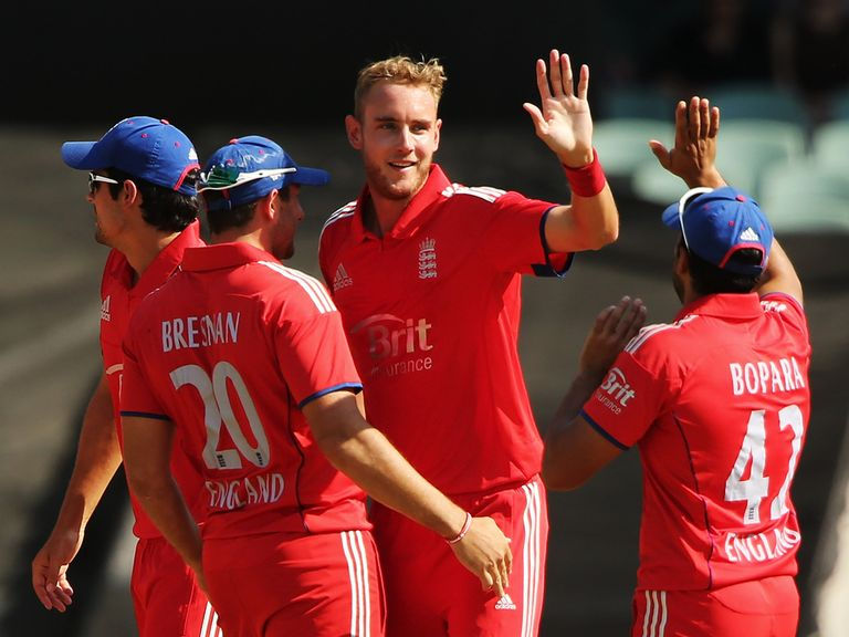 Stuart Broad: Aiming for a series win