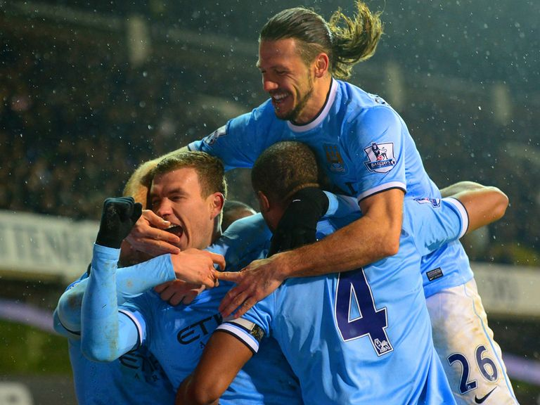 Man City hammered Spurs for a second time this season