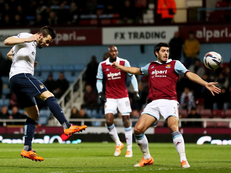 West Ham were easily defeated in the semi-finals
