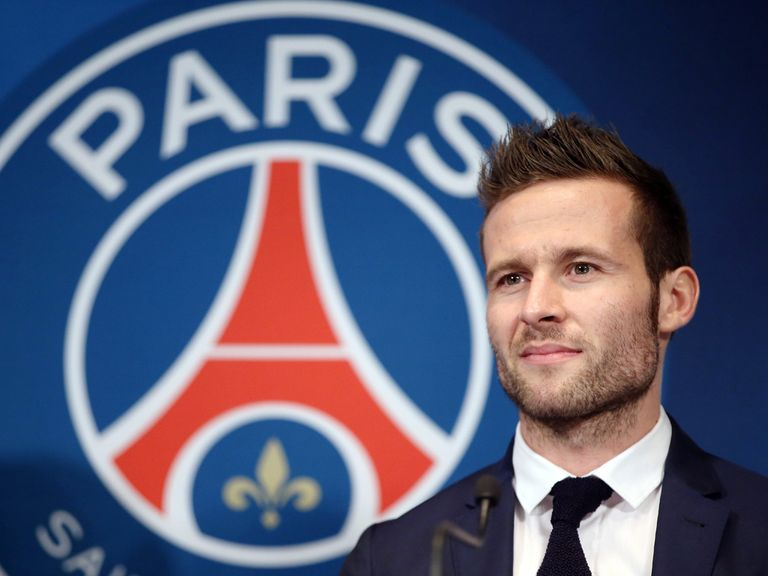 Yohan Cabaye: Left Newcastle to join PSG