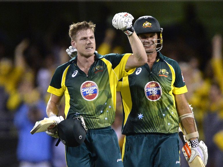 James Faulkner: Fired Australia to a stunning one-wicket victory
