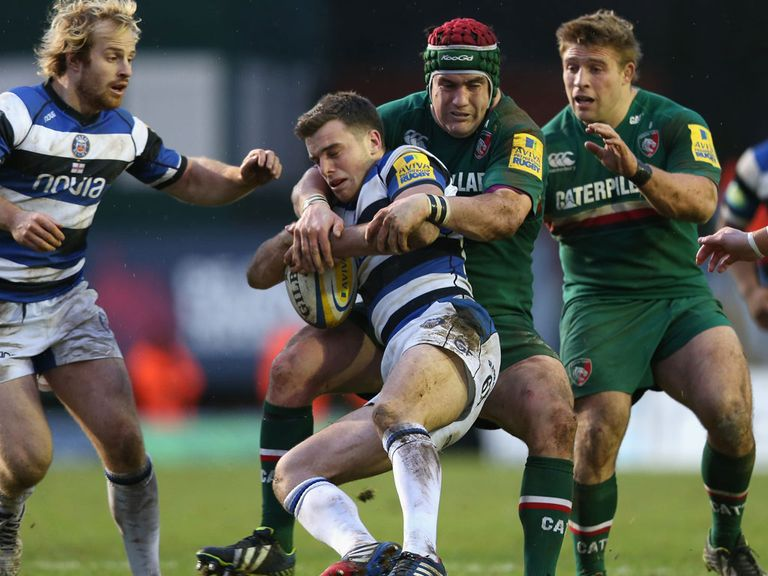 Leicester drew 27-27 against Bath.