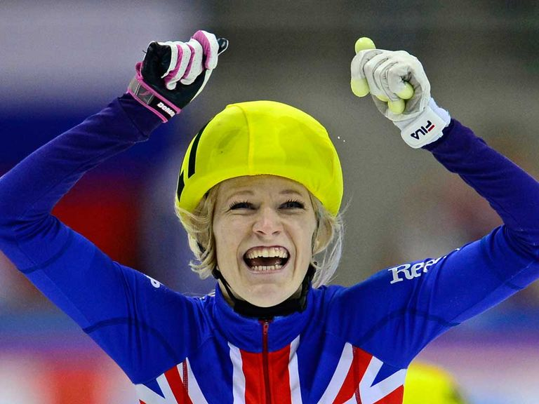 Elise Christie: Medal hopeful in short track speed skating