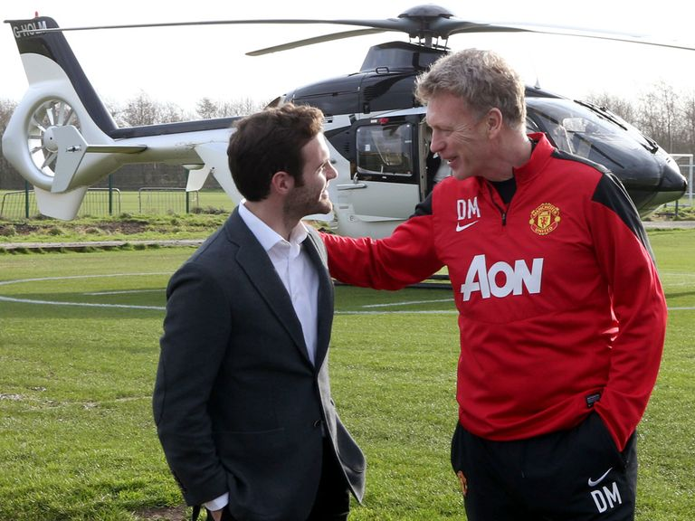 Mata is the first of many new arrivals at Old Trafford