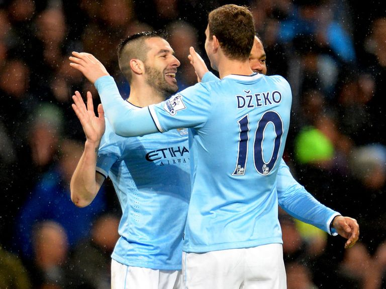 Alvaro Negredo and Edin Dzeko can ensure City don't miss Sergio Aguero