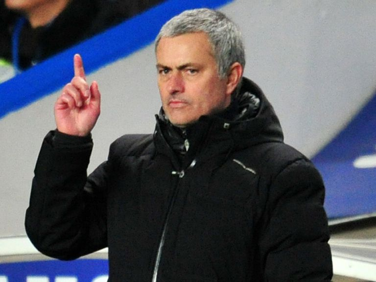 Jose Mourinho: Playing down Chelsea's title hopes
