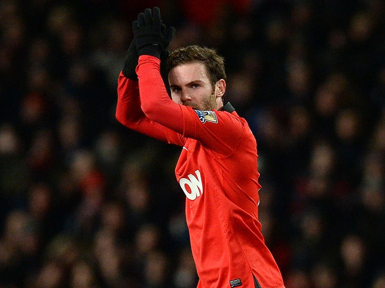 Juan Mata: Enjoying life at Manchester United