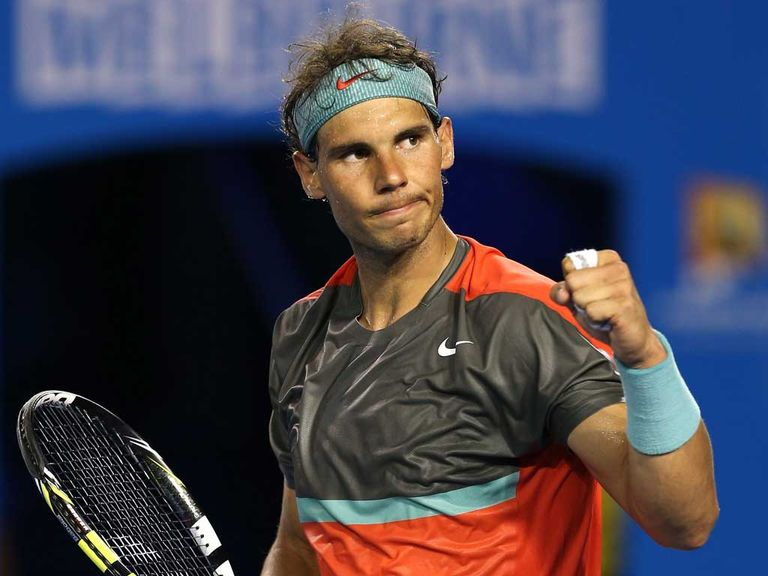 Rafael Nadal: Serve stats strong in matches with Federer