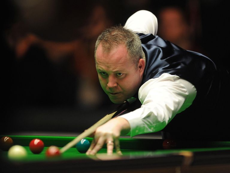 John Higgins: Feeling much better about his game