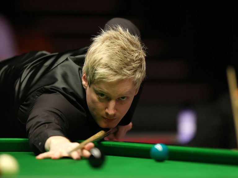 Neil Robertson: Thrashed 5-1 in Berlin