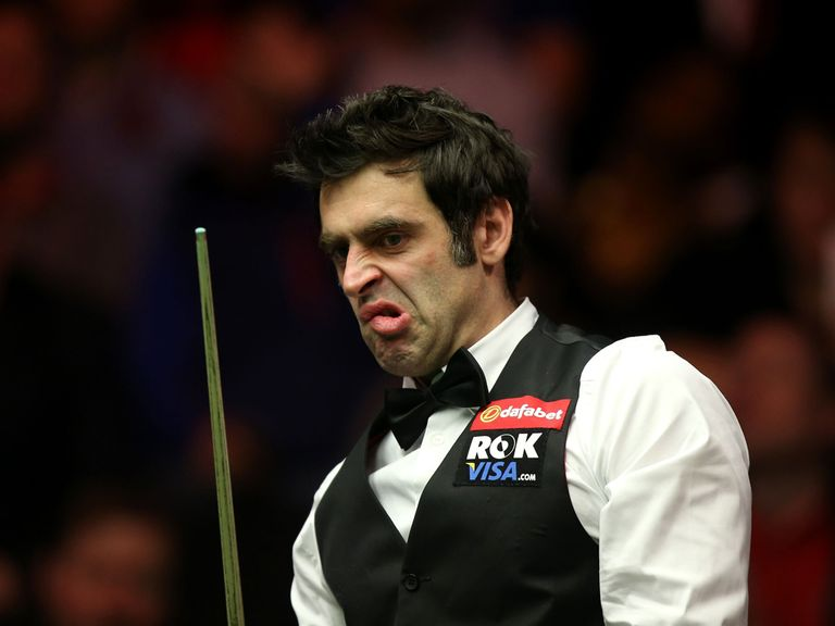 Ronnie O'Sullivan: Showed no mercy to Milkins