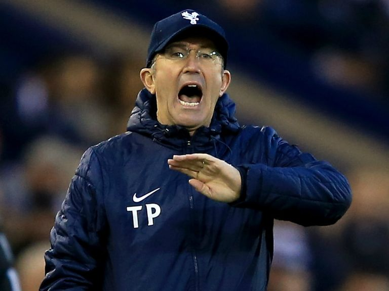 Tony Pulis: Might be happy to take a point