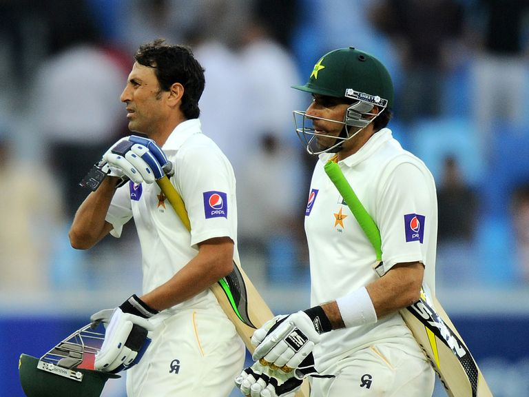 Khan and Misbah-ul-Haq: Helped Pakistan recover