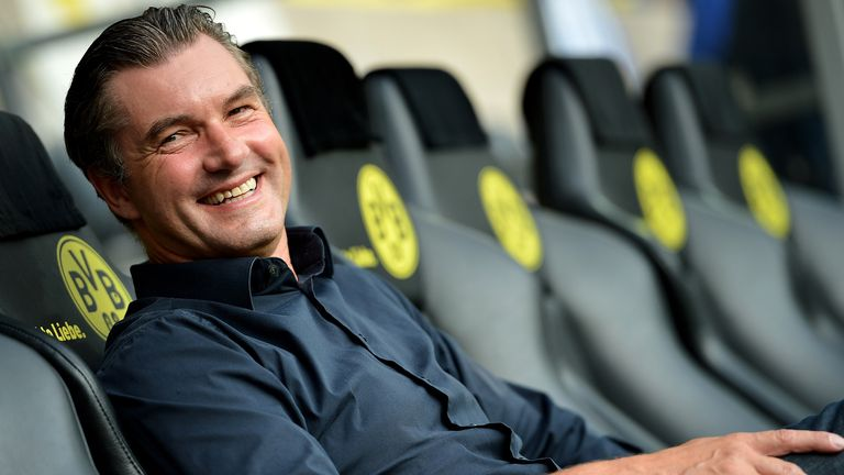Michael Zorc: Set to stay at Dortmund until 2019