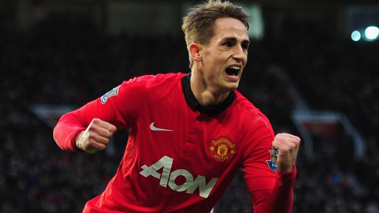 Adnan Januzaj: Committed to a new five-year contract at Manchester United
