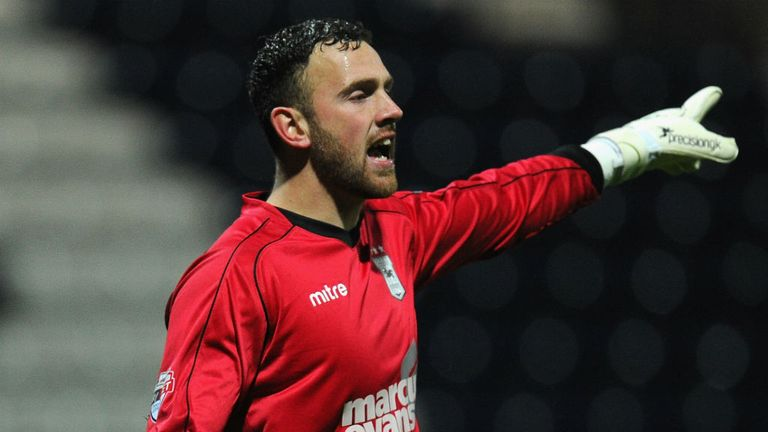 Scott Loach: Back in the Ipswich side and looking to stay there