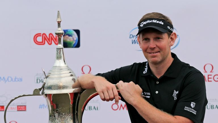 Stephen Gallacher: Came home in 33 to win by a shot