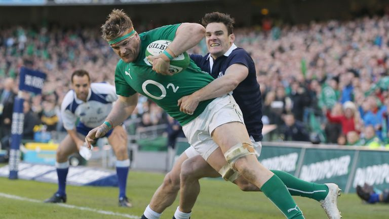Jamie Heaslip: Ireland back row ready for reunion with Lions coach Warren Gatland