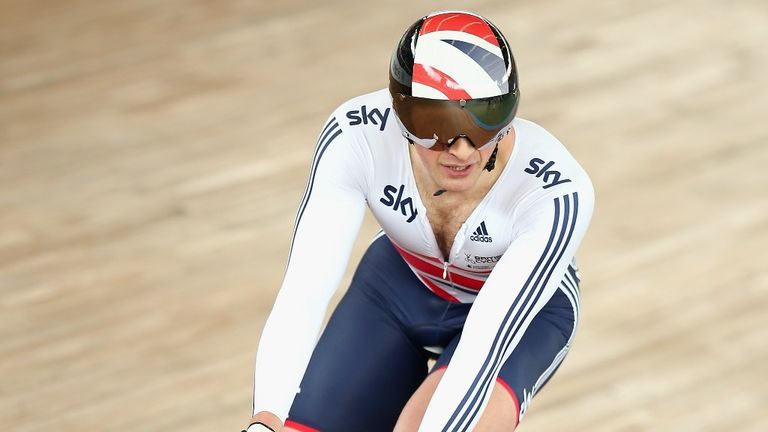 Justin Grace will be tasked with reviving the form of British sprinters such as Jason Kenny