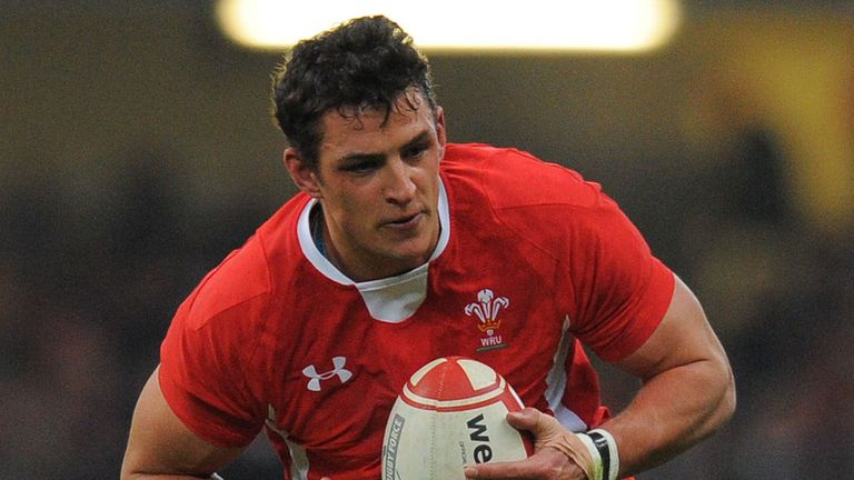 Aaron Shingler: out of Ireland match