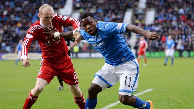 Aberdeen beat St Johnstone 4-0 in the League Cup semi-final
