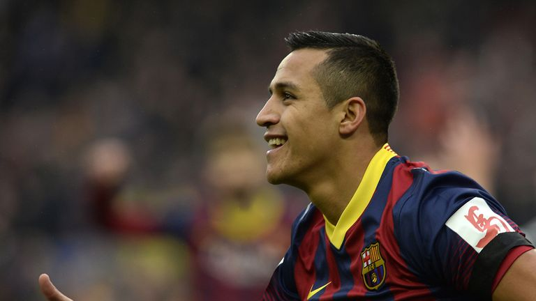 Alexis Sanchez: Barcelona forward regularly linked with a move to Juventus