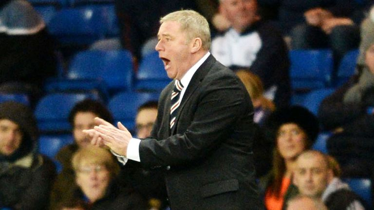 Ally McCoist reckons Rangers will have a tough job winning the Scottish Cup