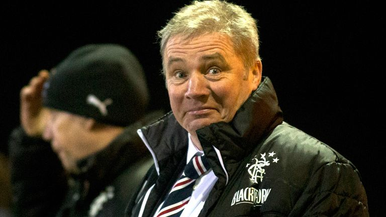 Ally McCoist: Happy with a solid performance at Stranraer