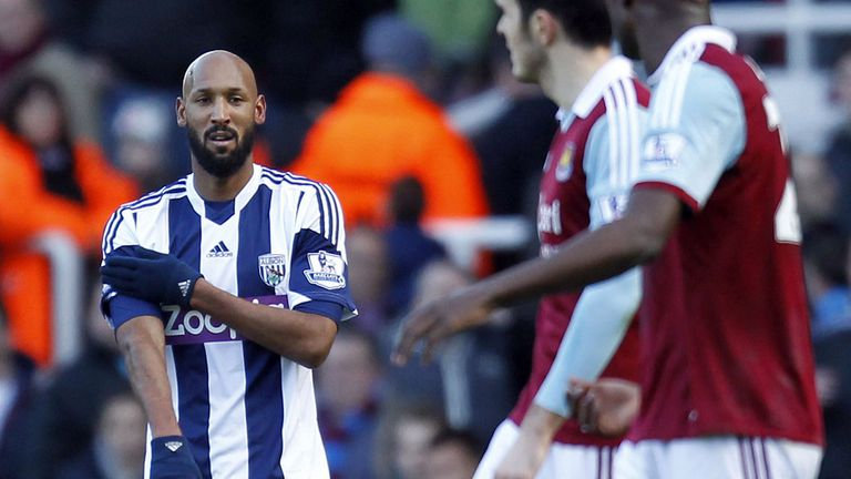 Nicolas Anelka: West Brom striker's punishment has been explained
