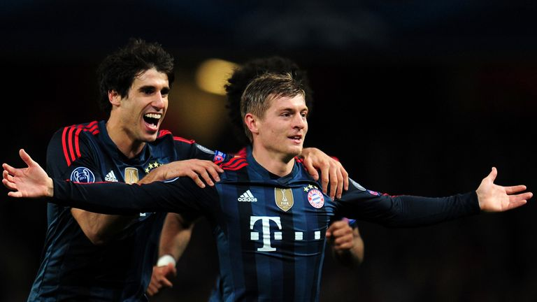 Toni Kroos (right): Linked with big-money move to Manchester United
