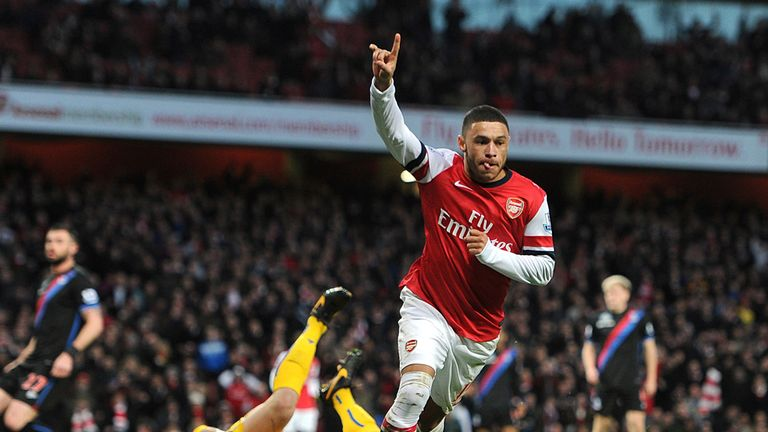 Alex Oxlade-Chamberlain: At the double for Arsenal
