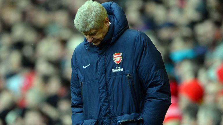 Arsene Wenger: Called for his side to respond to Liverpool defeat