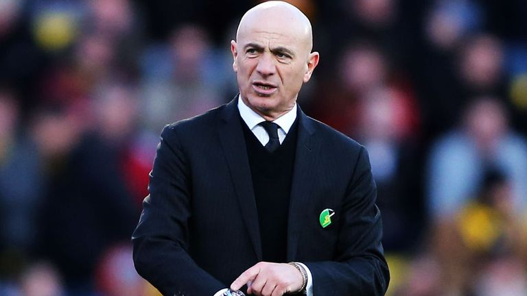 Beppe Sannino: Six wins on the spin at Vicarage Road