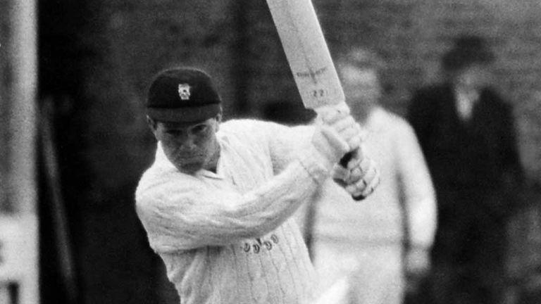 Bernard Hedges: First one-day hundred for Glamorgan