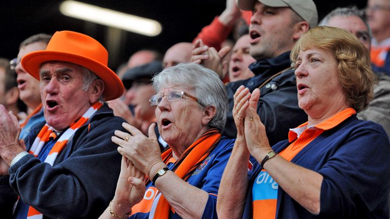 The Bloomfield Road faithful were happy with Andy Keogh's equaliser