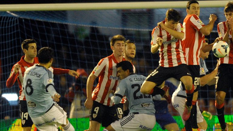 Athletic Bilbao kept hopes of a top-four spot on course in a goalless draw in Vigo