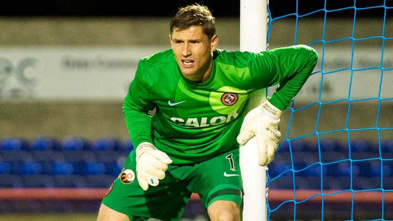 Radoslaw Cierzniak: Happy at Dundee United and not looking to leave