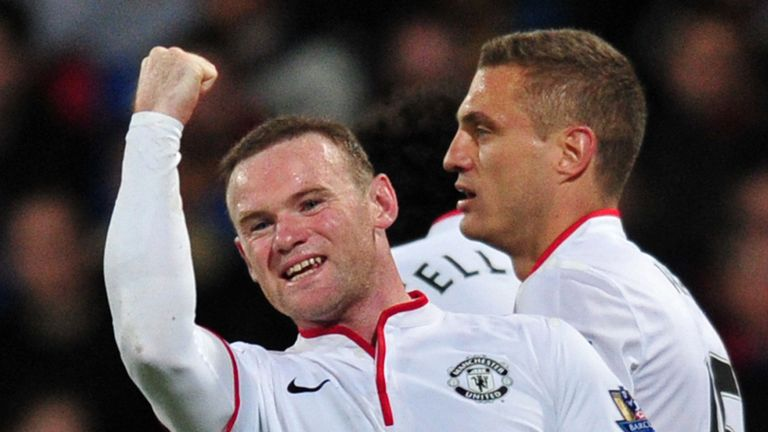 Wayne Rooney: Thrilled to play his part in United's win at Palace