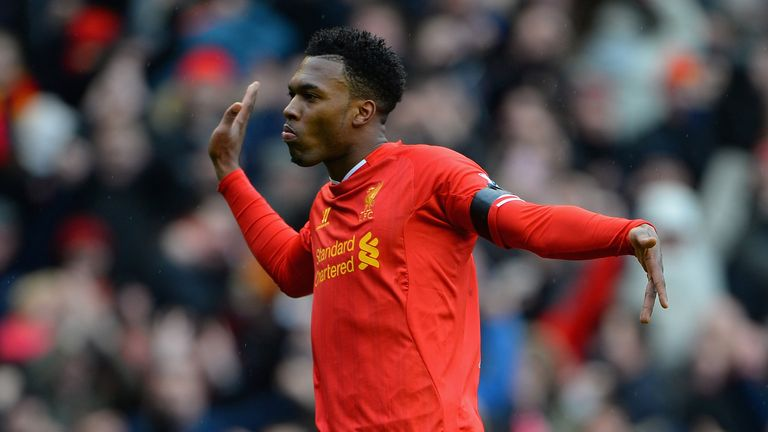 Daniel Sturridge: Loving life at Liverpool