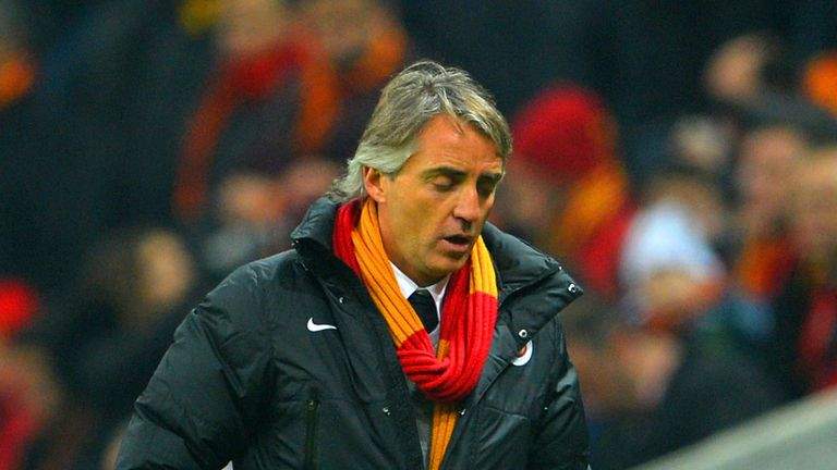Roberto Mancini: Galatasaray boss disappointed not to win