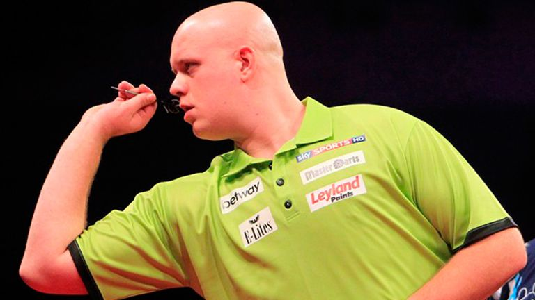 Van Gerwen: Facing compatriot van Barneveld in Glasgow