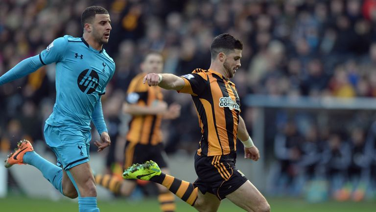 Shane Long: Impressed for Hull in 1-1 draw with Tottenham